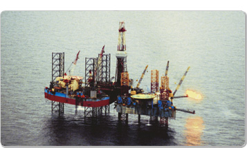 oil rig photo