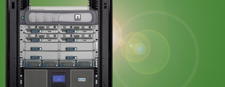 As a member of the NetApp Alliance Partner Program, Eaton enhances NetApp storage and FlexPod solutions with a fully-integrated, scalable infrastructure that simplifies power management complexity in virtualised environments.