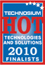 Technosium HOT finalist logo