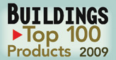Buildings Top 100 products 2009 award logo