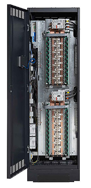 RPP can be configured with up to four high-density panelboards (400A main breaker)