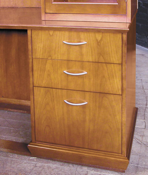 Numerous drawer pull styles