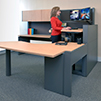 Eaton Sit-to-stand Desk Solutions