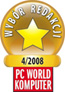 Editor's Choice Award - Polish periodical PC World Komputer